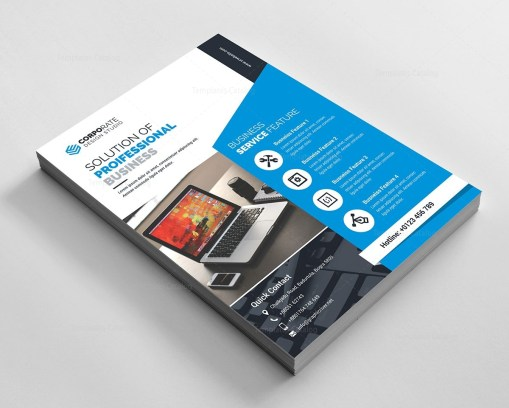 Modern Elegant Corporate Flyer
