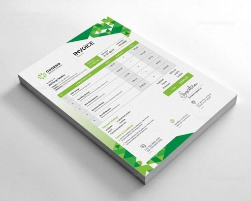Modern Elegant Invoice Template