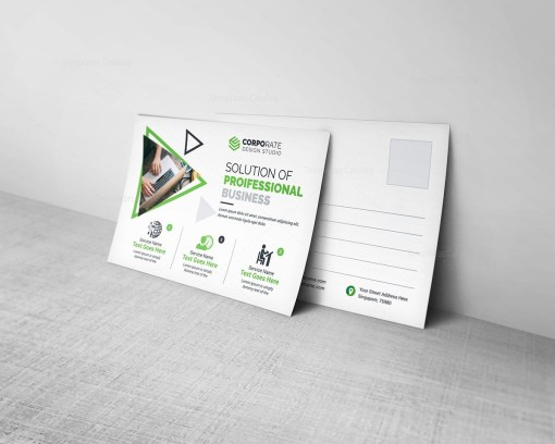 Professional Postcard Template