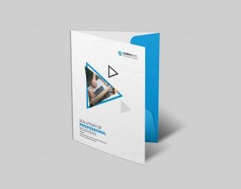 Professional Presentation Folder Design