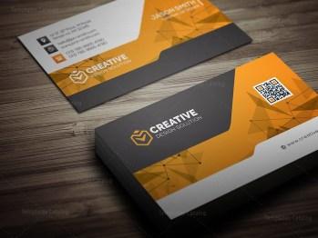Technology Business Card Mockup