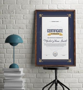 Vertical Certificate