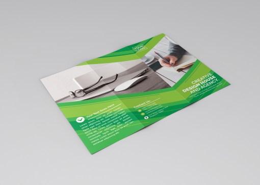 Apollo Professional Tri-Fold Brochure Template