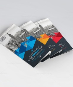 Artemis Stylish Tri-Fold Brochure Template