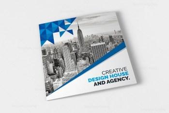 Classy Elegant Corporate Tri-Fold Brochure Template