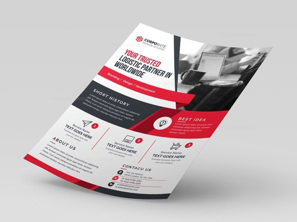 Corporate Stylish Flyer Template