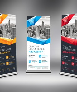 Excellent Rollup Banner Template