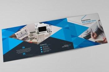 Excellent Tri-fold Corporate Brochure Template