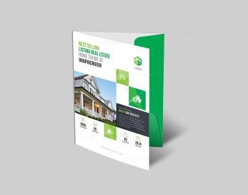 High Class Corporate Presentation Folder
