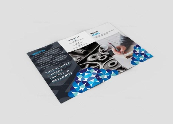 Iris Premium Tri-Fold Brochure Template