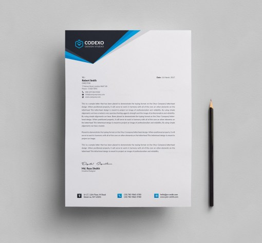 Letterhead Design Templates