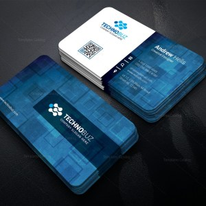 Pollux Technology Corporate Business Card Template