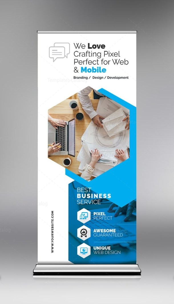 Prestige Roll-Up Banner Template