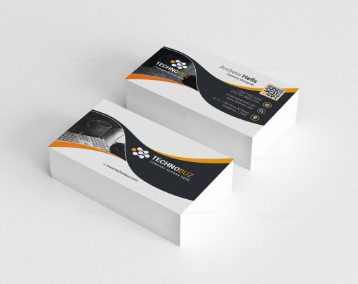 Technology Premium Business Card Template