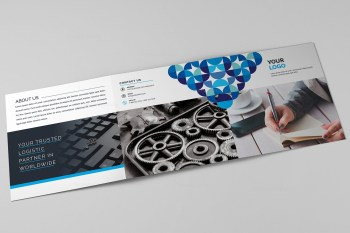 Vega Corporate Tri-Fold Brochure Template