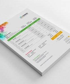 Artemis Corporate Invoice Template
