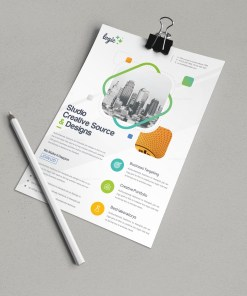 Artemis Elegant Corporate Flyer Template