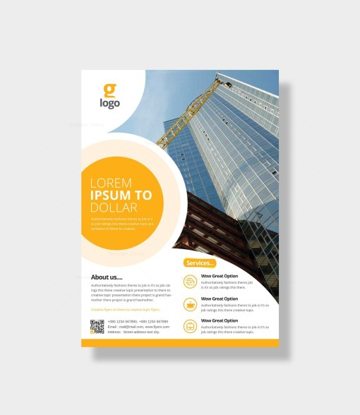 Athena Elegant Corporate Flyer Template