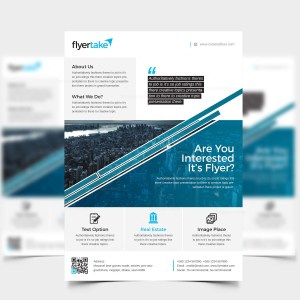 Attis Stylish Corporate Flyer Template