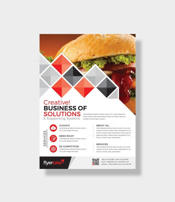 Boreas Stylish Corporate Flyer Template