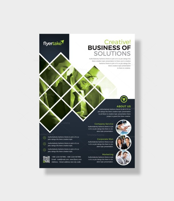 Caerus Stylish Corporate Flyer Template