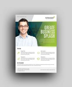 Eurus Professional Corporate Flyer Template