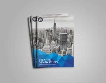 Genesis Stylish Bi-Fold Brochure Template