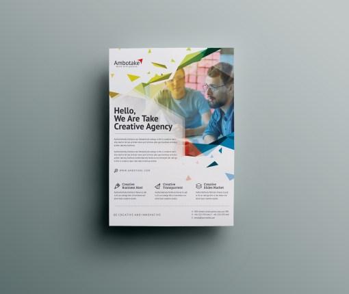 Guardian Professional Corporate Flyer Template