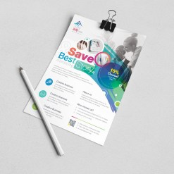 Hera Elegant Corporate Flyer Template
