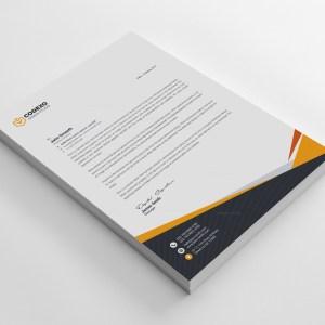 Mira Professional Corporate Letterhead Template