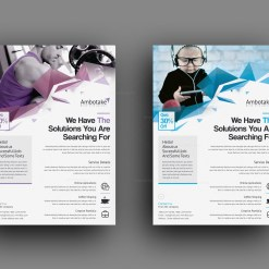 Notus Professional Corporate Flyer Template