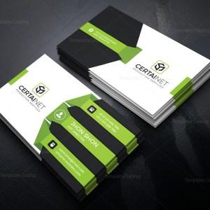 Titanium Stylish Corporate Business Card Template