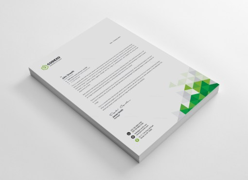 Valkyrie Professional Corporate Letterhead Template
