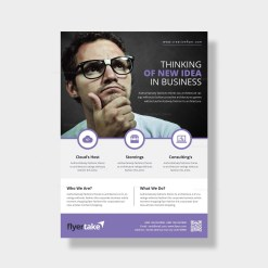 Zeus Elegant Corporate Flyer Template