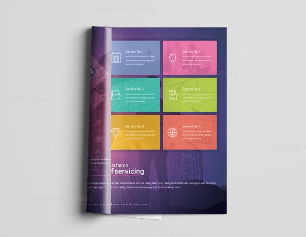 16 Pages Neptune Elegant Corporate Brochure Template