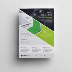 Andromeda Elegant Premium Business Flyer Template