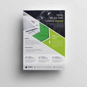 Andromeda Elegant Premium Business Flyer Template