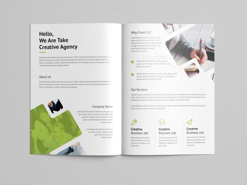 Castor Professional Bi-Fold Brochure Template