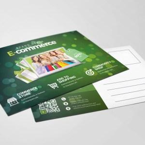 Commerce Elegant Postcard Template