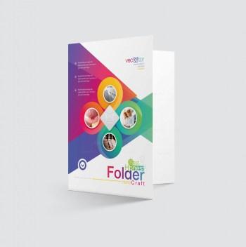 Excellent Elegant Presentation Folder Template