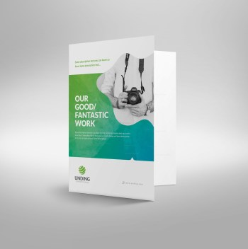 Fantastic Premium Corporate Presentation Folder Template