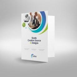 Hypnosis Professional Corporate Presentation Folder Template