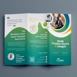 Hypnosis Professional Tri-Fold Brochure Template