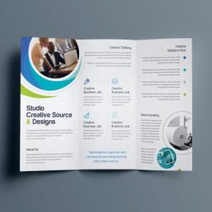 Hypnosis Professional Tri-Fold Brochure Template