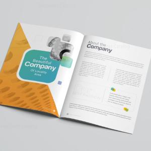 Logic Professional Corporate Brochure Template