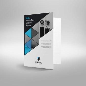Mars Elegant Corporate Presentation Folder Template