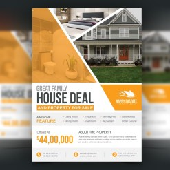 Modern Professional Open House Flyer Template