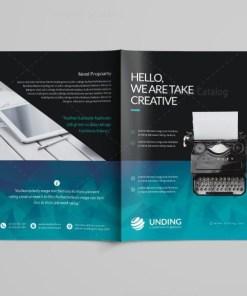 Ocean Professional Bi-Fold Brochure Template