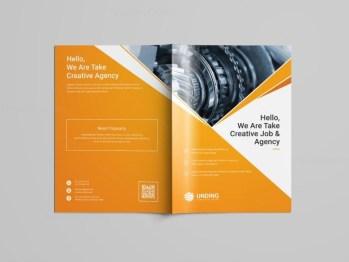 Pearl Professional Bi-Fold Brochure Template