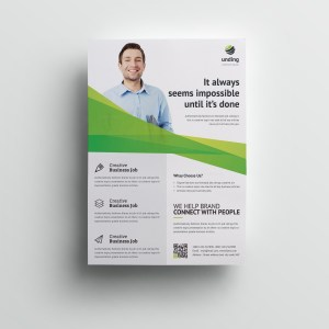 Unicorn Elegant Premium Business Flyer Template